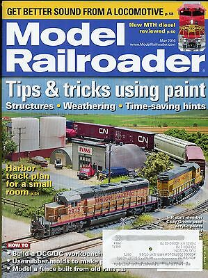 Model Railroader Magazine May 2016 Harbor Track Plan For A Small Room