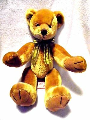 Russ Berrie Dunwell Rare Collectible Wired Teddy Bear - 12 inch