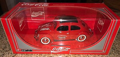 Coca Cola Die-cast Metal VW Bug Coccinelle Berline Ref #9506 1993 New In Box