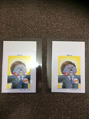 GPK Mark Pingitore Signed - Trey Live & Obey Jay - RARE ITEM