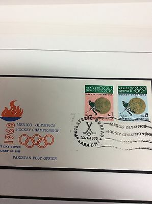 Mexico Olympic Games 1968 Massive Cover Sale: Pakistan Hockey set