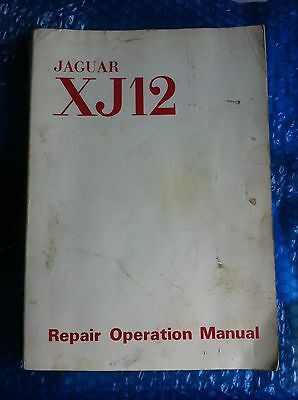 Jaguar  V12 Repair Manual