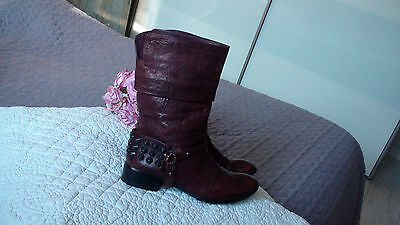 Low Boots **natysa **  T. 36  Cuir