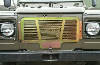 Land Rover Defender military 110 90  Wolf  WMIK Snatch front grill