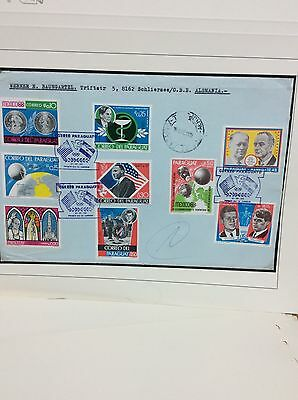 Mexico Olympic Games 1968 Massive Cover Sale: Paraguay 2