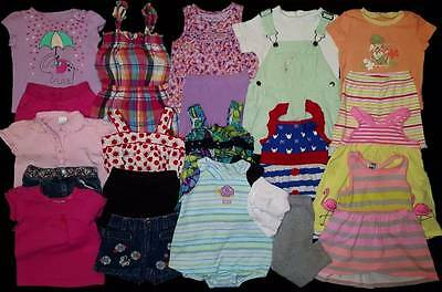 Baby Girls 18 months Spring and Summer Clothes Outfits Lot Free Shipping!
