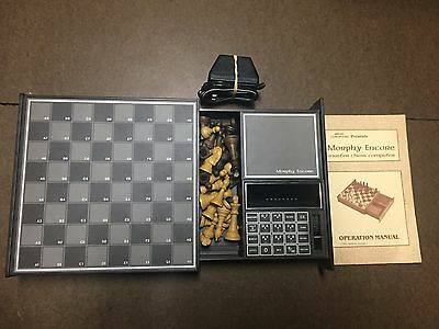 Morphy Encore Chesscomputer Applied Concepts Chess Computer ~ Post Sargon 2.5