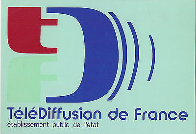 Qsl Radio Card Radio  France Paris 1977