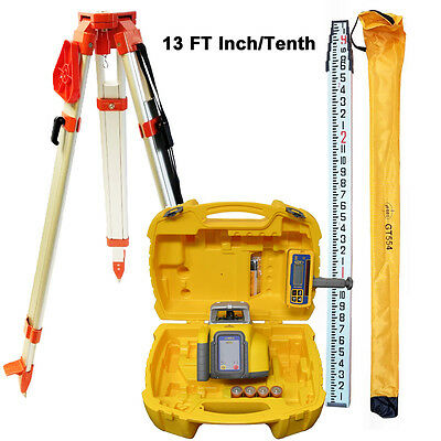 Spectra Precision LL300N Laser Level with Tripod, 13 FT I/T Rod & HL450
