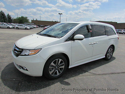 2017 Honda Odyssey Touring Automatic Touring Automatic New 4 dr Van Automatic Gasoline 3.5L V6 Cyl White Diamond Pear