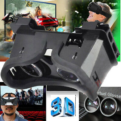 """Pro 3D Virtual Reality VR Video Glasses For Phone Mobile 4~6"""" Google Cardboard"""
