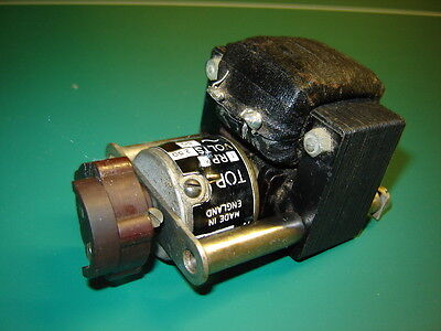 English Made Everett Edgcumbe London Synclock Electric Motor for Clock