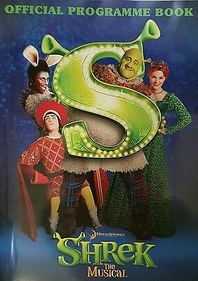 Shrek the Musical theatre programme