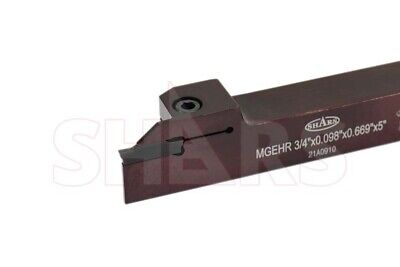 "SHARS External Cutoff Grooving Turning Tool Holder 3/4"" Sha"