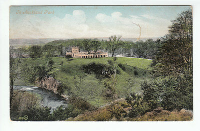 In Auckland Park Durham 1895 Posted 20 Nov 1908 Graham Swansfield Park Alnwick