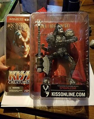 McFARLANE TOYS KISS CREATURES The Demon GENE SIMMONS ACTION FIGURE 2002 SPAWN