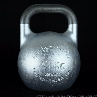 44 kg-97 lb Paradigm Pro ELITE 33mm Competition Kettlebell *FREE SHIPPING*