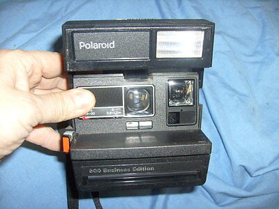 Vintage Polaroid 600 Business Edition Instant Film Camera with Flash   /b5
