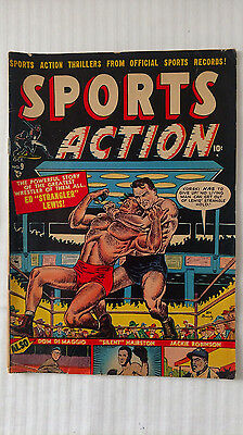 Sports Action #9 (1951) - Low Grade Golden Age