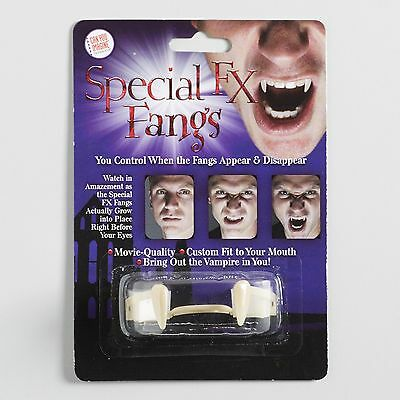 Custom Fit Vampire Fangs by Cost Plus World Market for Halloween Costume