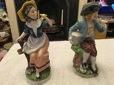 Pair of figurines - possibly Sitzendorf
