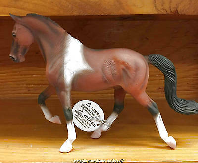 Breyer Horse Collectables New Corral Pals Bay Pinto Tennessee Walker Stallion