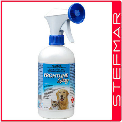 Frontline Spray For Dogs + Cats 500ml