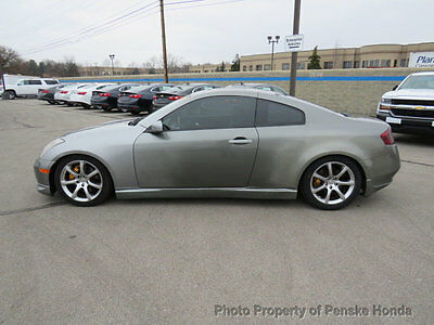 2004 Infiniti G35 2dr Coupe Automatic 2dr Coupe Automatic Automatic Gasoline 3.5L V6 Cyl GRAY