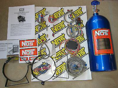 Nitrous/nx/zex/holley/ Nos 8 Cyl Universal Powerfogger Drive-By-Wire Wet Kit-New