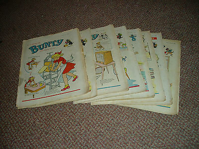 Collection Of Bunty Comics  1959 Waif Of The Wilds Excellent
