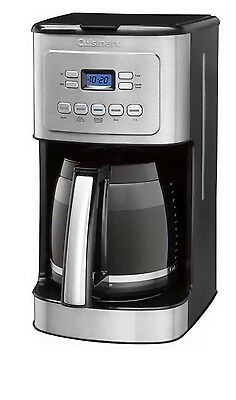 New Cuisinart Brew Central 14 Cup Programmable Coffee Maker Glass Carafe Brewer