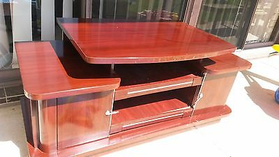 Wooden TV Cabinet with high polish