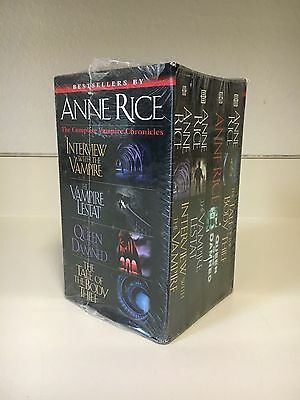 Anne Rice  The Vampire Chronicles Box Set  Sealed  New  Paperback  4 Books