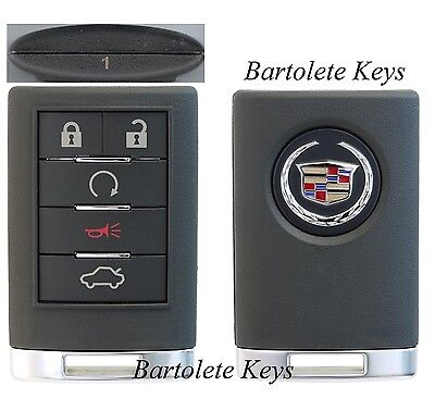 OEM Key Fob Entry Remote Driver #1 for 2008 2009 2010 Cadillac CTS DTS STS