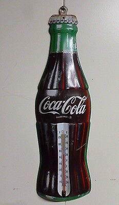 Vintage Metal Coca Cola Thermometer TCA Made in the U.S.A.