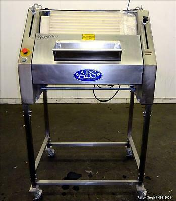 Used- Sinmag Baguette Moulder, Model SM 380S, Stainless Steel. Approximate capac