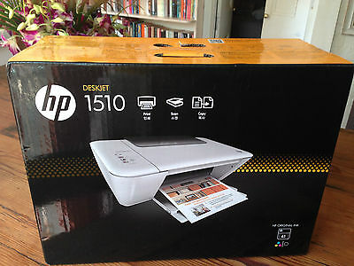 HP DeskJet 1510 All-In-One InkJet Printer. New Sealed In Box! Courier Welcome.