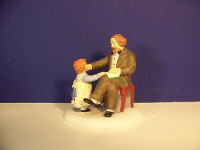 Dept 56 Dickens Village A STORY FOR THE CHILDREN No box Combine Shipping!