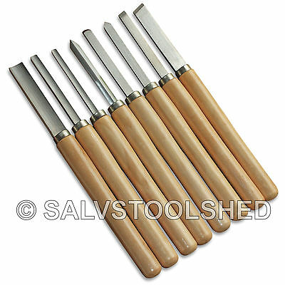 Lathe Wood Turning Chisels Woodturning Chisel Set Carving Wood Working Tools AD