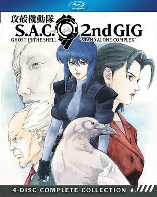 Ghost In The Shell: Stand Alone Complex Season 2 [New Blu-ray] Boxed Set
