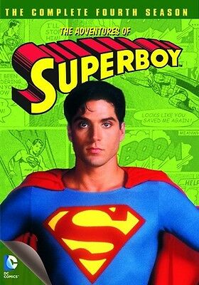 THE ADVENTURES OF SUPERBOY COMPLETE FOURTH SEASON 4 New Sealed 3 DVD Set