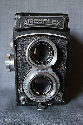Airesflex TLR camera with Olympus Zuiko FC lens 75mm/F3.5