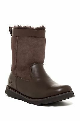 Ugg Men Wrangell Brown Winter Boot Waterproof Size 11.5 Orig. $240