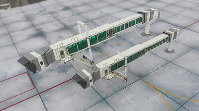 Airport Terminal Air Bridge DIY Set Of Two for 1:200 Models Exclusive Sale