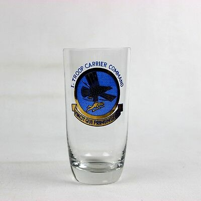 Post-Wwii Veteran Reunion I-Troop Carrier Command Commemorative Glass Tcc