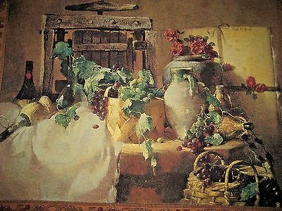 "Redecorate in 20 Minutes! LARGE 49"" x 39"" Provence Table Scene Wall Tapestry"