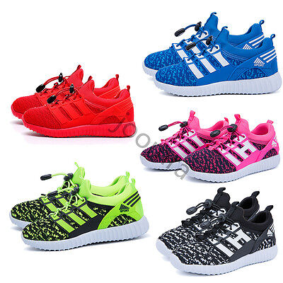Kids Children Boys Girls MD Sole Sneakers Baby Luminous Running Shoes Trainers