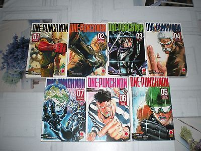 ONE-PUNCH MAN sequenza completa 1-7 Planet Manga