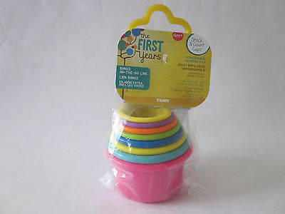Tomy The First Years Stack and Count Cups