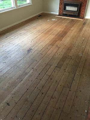 Recycled Baltic Pine Floorboards 115 X 22mm (4.5 Inch)